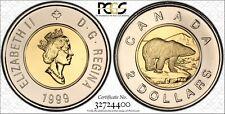 1999 $2 PCGS PL 66 CANADA BEAUTIFUL