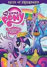 MY LITTLE PONY FRIENDSHIP IS MAGIC  - Keys of Friendship (DVD, 2014) NEW SEALED
