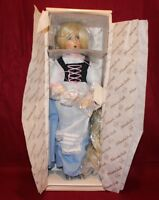 "15"" Dianna Effner Rapunzel Porcelain Doll,Mother Goose,By Knowles,COA,NIB"