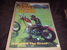 Back Street Heroes - Issue 45 - January  1988  - Motorcycle Magazine