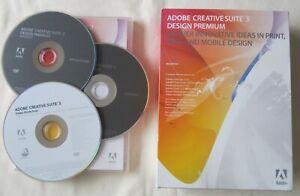 Adobe CS3 Design Standard MAC OS Creative Suite 3 with Serial Number PN:19500233
