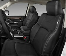 2009-2018 DODGE RAM LARAMIE LEATHER SEAT COVERS OEM 4 PIECES