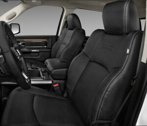 2009-2018 DODGE RAM LARAMIE LEATHER SEAT COVER DRIVER SIDE BACK OEM 1 PIECE
