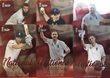 2018 Tap n Play .. National Pride.. England Cricket... Set Of 6