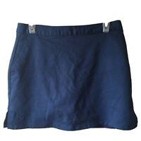 Under Armour womens tennis skirt skort Women's size 4 large athletic Blue