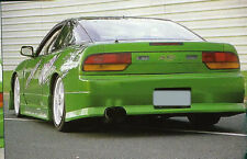 TeamJetspeed Australia Made Fiberglass Nissan 180SX VTX Style Rear Bar RAW NEW