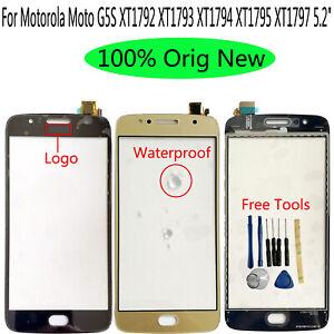 For Moto G5S XT1792 XT1793 XT1794 XT1795 XT1797 Outer Front Glass Touch Screen
