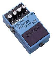 Pedali Boss per effetto chorus di chitarre