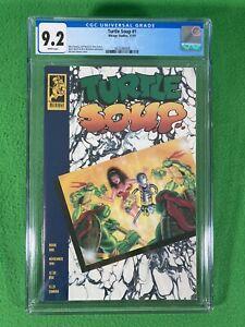 Turtle Soup 1 - Mirage - CGC 9.2 White - 1991 -Teenage Mutant Ninja Turtles TMNT