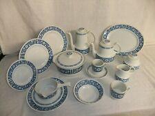 C4 poterie MYOTT fine IRONSTONE-Vérone-Vintage Bleu 7D7C