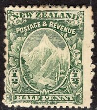 NEW ZEALAND 1901 STAMP Sc. # 99Bf PERF: 11x14 MH