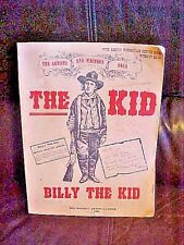 BILLY THE KID BIOGRAPHY by AUTHOR/ILLUSTRATOR BILL RAKOCY, SIGNED
