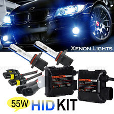 H7 55W Headlight 6000K HID Xenon Light Conversion Kit Slim Digital Ballast White