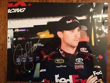Authentic Denny Hamlin Signed Photo