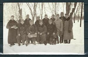 AUSTRIA BOSNIA WWI SOLDIERS IN BJELJINA BOSNIA REAL PHOTO POSTCARD AMAZING