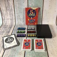 VINTAGE 5 ALIVE WADDINGTON CARD GAME BOXED 100% COMPLETE - RARE