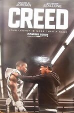 Silvester Stallone CREED(2016)Original rolled US one sheet movie poster