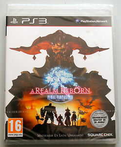 A REALM REBORN FINAL FANTASY pour Playstation 3 (PS3) NEUF sous BLISTER VF PAL