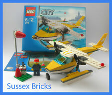 Lego City Town - 3178 - Harbour Seaplane Sea Plane Aircraft - Boxed Complete VGC