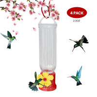 Mini Hummingbird Feeder with Hanging Wires Easy Cleanup Leakage Prevent EJWOX
