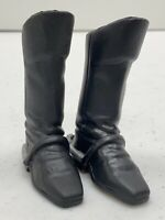 """G I Joe Plastic Riding Boots with Spurs Accessory for 12"""" Action Figure1:6 scale"""