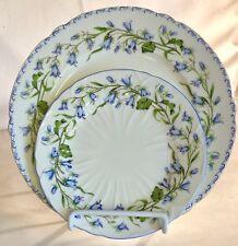 2 Shelley Harebell Plates