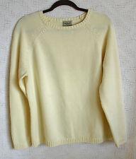 L.L. Bean 100% Cotton Long Sleeve Sweater Size XL