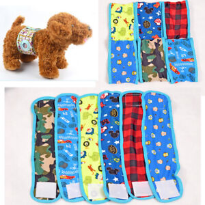 Cool Male Pet Dog Puppy Belly Wrap Band Diaper Nappy Pants Sanitary Underwear