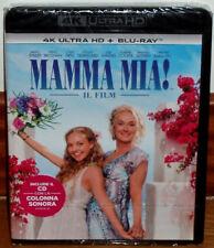 MAMMA MIA 4K ULTRA HD+BLU-RAY NUEVO 2 DISCOS ESPAÑOL MUSICAL (SIN ABRIR) R2
