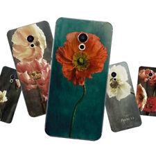 Suave TPU para Meizu Pro 7 Motorola Moto E4 Plus G5S M X4 Cubierta Plus C Floral
