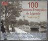 COFFRET 4 CD  100 CHANSONS FRANÇAISES DE LÉGENDE Vol 2  CO93