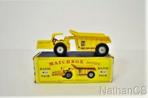 Vintage MATCHBOX M-10 Major Pack Whitlock Dinkum Dumper In Box