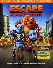 Escape from Planet Earth [New Blu-ray]