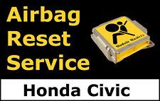 Honda Civic: Airbag Module Reset Service, Control Unit, Computer, SRS, RCM,
