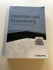Investition und Finanzierung von Jörg Wöltje (1. Auflage 2013)