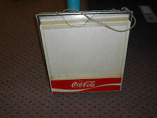 VINTAGE Coca Cola lighted menu display sign
