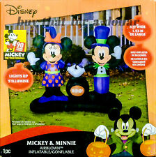 NEW*Disney Halloween Decorations-Mickey Minnie Mouse-Inflatable-Outdoor-Airblown