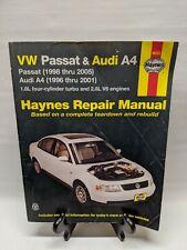 Haynes Repair Manual VW Passat & Audi A4 96023 (SMH2)