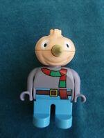 LEGO DUPLO FIGUR KNOLLE VON BOB DER BAUMEISTER VOGELSCHEUCHE 2.16 k37