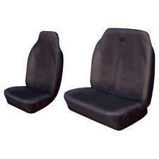 Pair 2+1 BLACK/BLUE Trim Heavy Duty VAN Seat Covers Suits RENAULT TRAFIC