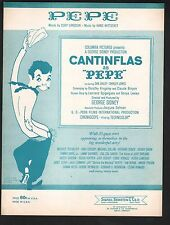 Pepe 1957 Cantiflas Shirley Jones Bing Crosby Bobby Darin PEPE Sheet Music