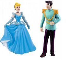 Figurine disney princesse bullyland cendrillon strass + prince  NEUF
