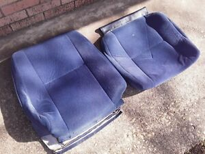 Volvo 740 940 Blue Cloth Seat Covers - Driver Or Passenger Side