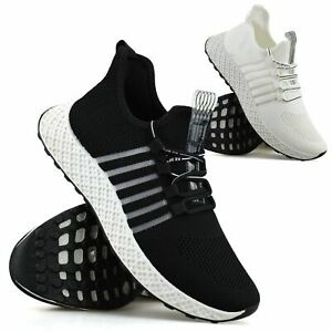 Mens Casual Running Jogging Walking Lace Up Gym Sports Work Trainers Shoes Size