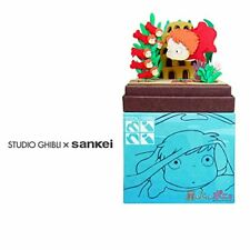 Sankei MP07-37 Studio Ghibli Ponyo   Ponyo & Her Sisters Paper Craft