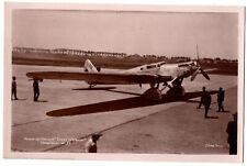 """CPA Aviation - """"Le Trait d'Union"""" Dewoitine D. 33, avion de record du monde"""