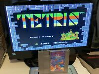 🔥100% WORKING NINTENDO NES SUPER FUN Game Cartridge + Manual - TETRIS 🔥