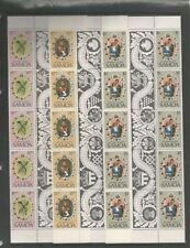 Mint Never Hinged/MNH Block Samoan Stamps