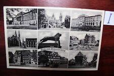Postkarte Ansichtskarte Niedersachsen Gruß aus Burgplatz