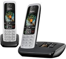 Gigaset C430A Duo Téléphone sans fil avec répondeur-Twin Combinés